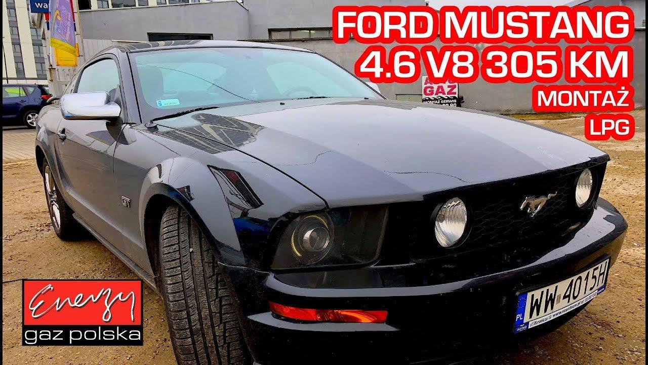 Montaż LPG Ford Mustang GT 4.6 V8 305KM 2005r w Energy Gaz Polska STAG Q-MAX