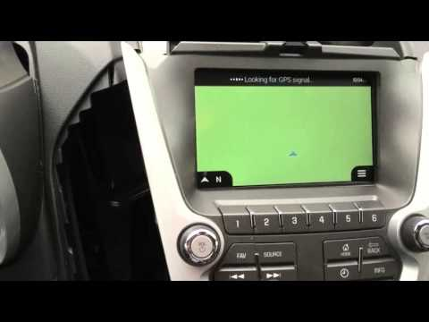 2015 Chevrolet Equinox Navigation Interface / Add on navigation / hacking  MyLink / Sintegrate