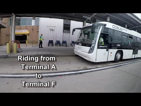 I Rode The PHL Airport Shuttle From Terminal A To Terminal F