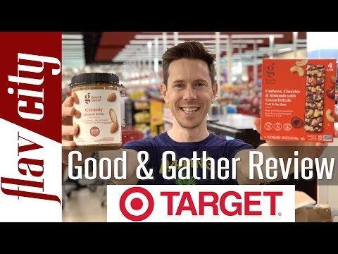 Target Grocery Haul - Reviewing Target's NEW Good & Gather Line
