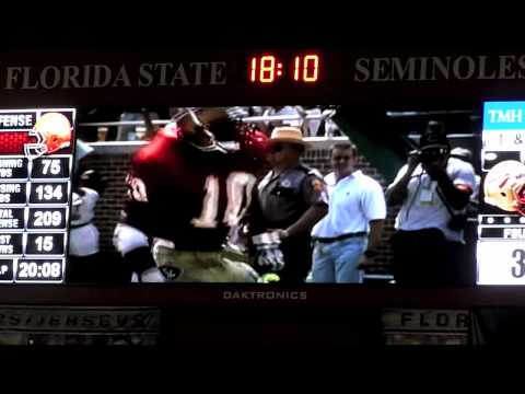 Retiring of Derrick Brooks #10 FSU