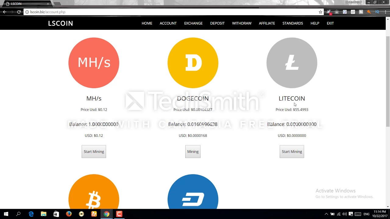 How To Create Bitcoin Payout Address Stock Symbol For Litecoin