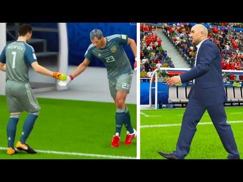 ШОК! ГАБУЛОВ СЫГРАЛ ЗА СБОРНУЮ L ТРЭШ ЧЕМПИОНАТ МИРА FIFA 18
