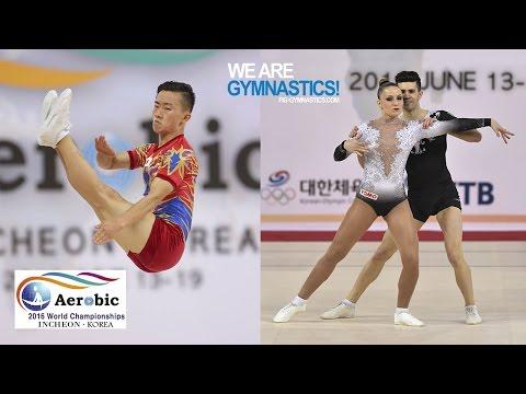 HIGHLIGHTS - 2016 Aerobic Worlds, Incheon (KOR) – Individual Men & Mixed Pairs - We Are Gymnastics !