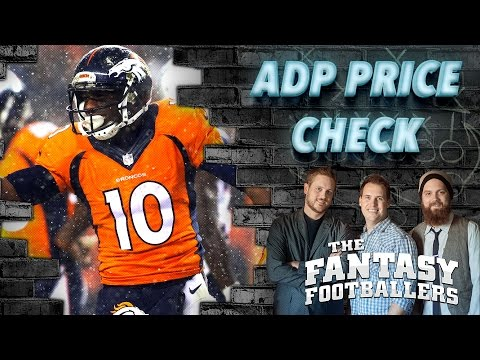 ADP Price Check & Mailbag - Ep. #212 - The Fantasy Footballers