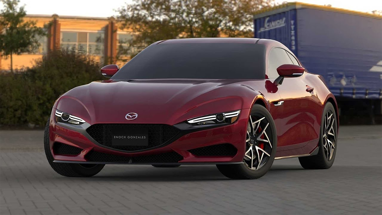 4 Mazda RX 4 Rendering Looks Too Good To Be True