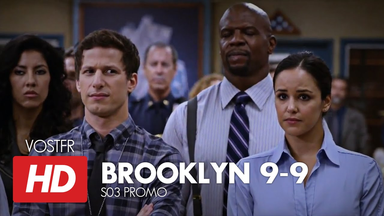 brooklyn nine nine s03 promo vostfr hd youtube. Black Bedroom Furniture Sets. Home Design Ideas