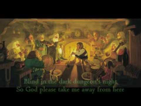 Blind Guardian - The Bard's Song - The Hobbit (with lyrics)