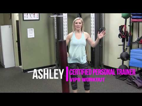 3 Minute ViPR Workout - Core and Cardio