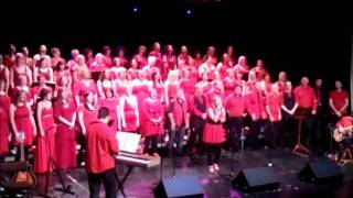 Here You Come Again-The Heart Of Scotland Choir LIVE at the ALbert Halls 10/12/11