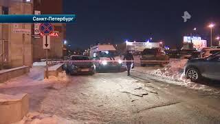 Смотреть видео В Санкт-Петербурге конфликт бизнесменов закончился кровавой перестрелкой онлайн