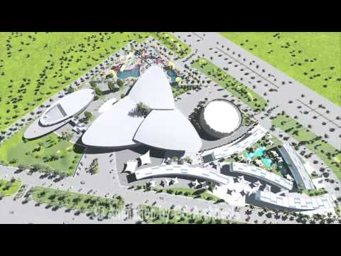 cocoa  Abidjan project 3D Animation by GS-Architects