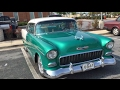 1955 Chevrolet Bel Air Classic 2 Door Coupe at the Burtonsville Car Show Maryland