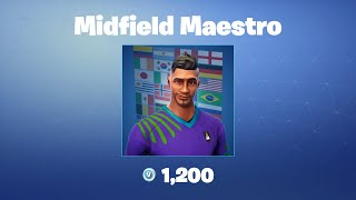 Midfield Maestro | Fortnite Outfit/Skin