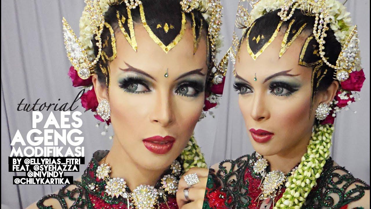 Tutorial Makeup Sanggul Pengantin Paes Ageng Modifikasi By