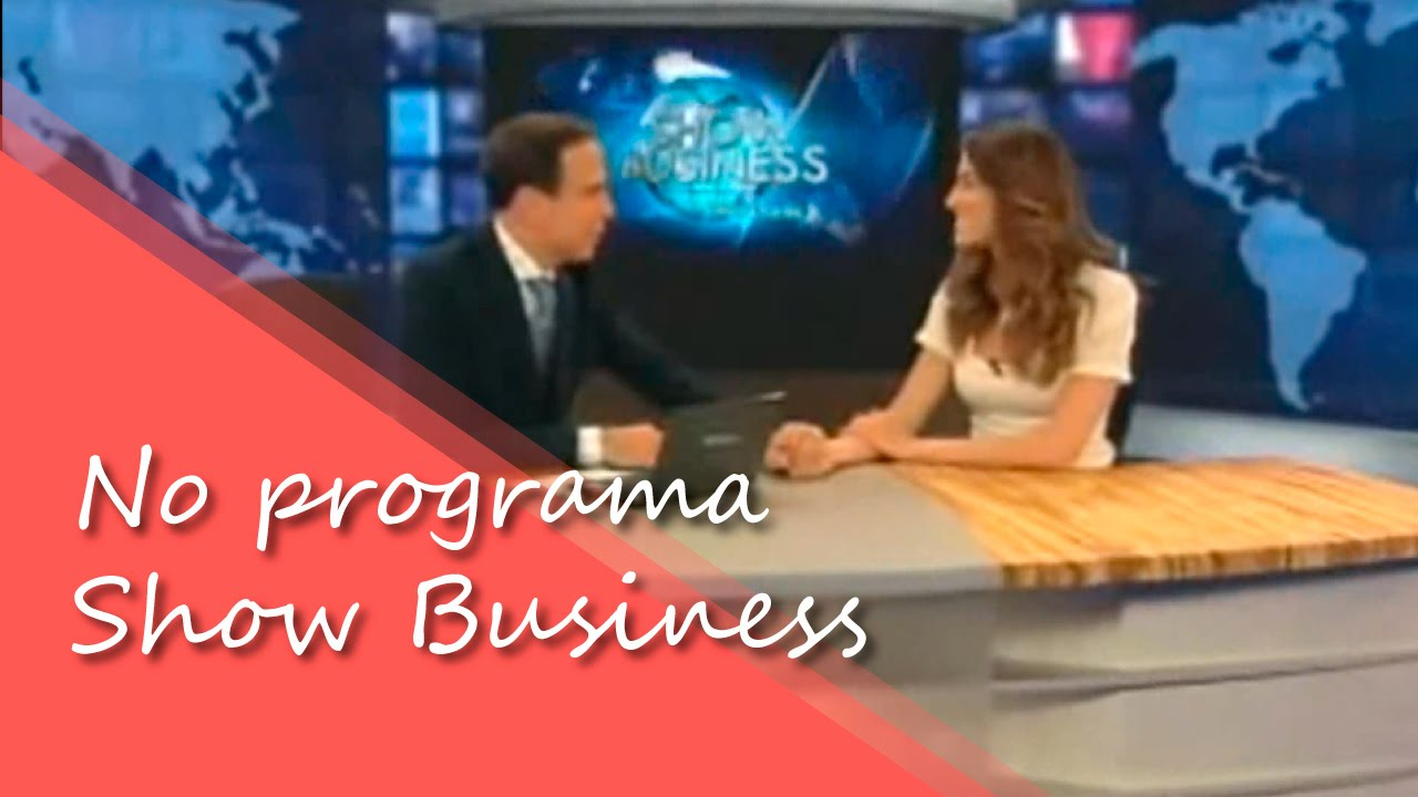 Entrevista no Programa Show Business