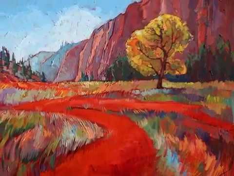 Erin Hanson's 80 great paintings, 80 прекрасных пейзажей Эрин Хэнсон