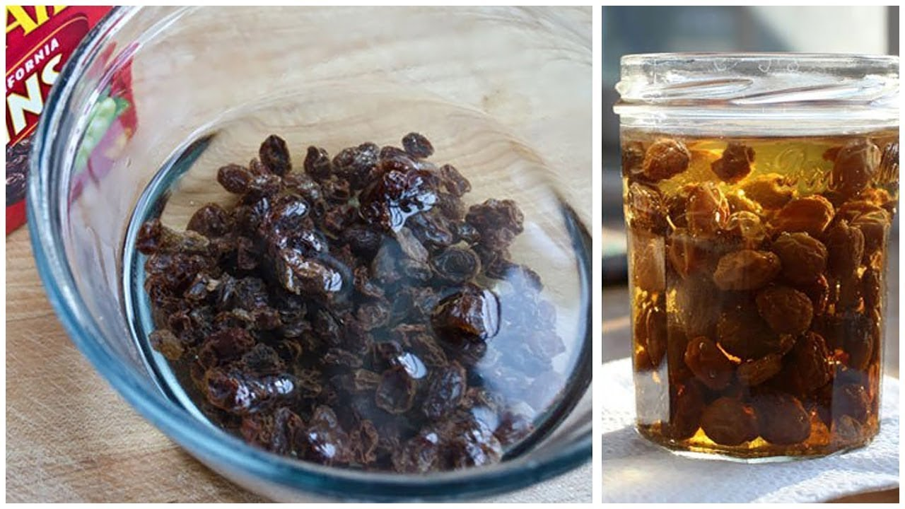Raisin Water Can Help Cleanse and Detox The Liver - YouTube