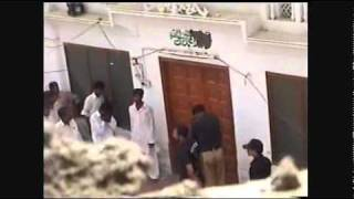 Police of Islamic Republic of Pakistan ERASES KALMA TAYYABA from a Minority Mosque.