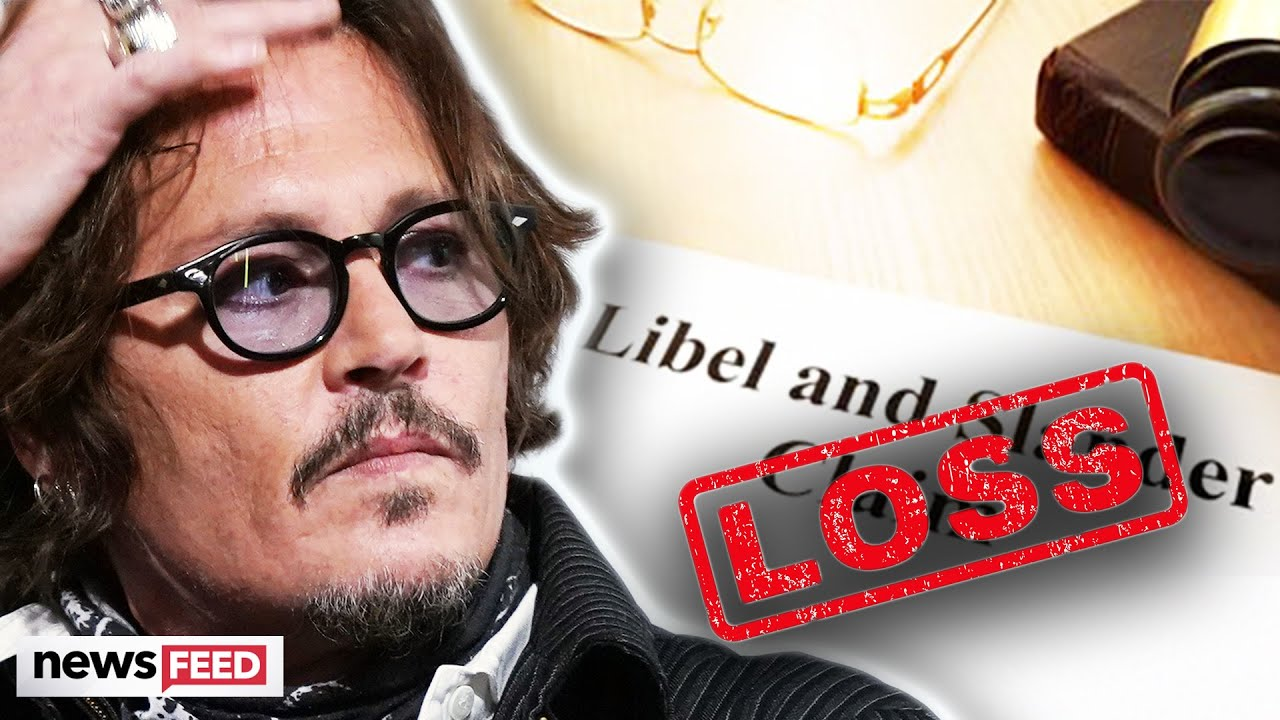 Johnny Depp Suffers MAJOR Loss In Tabloid Libel Case