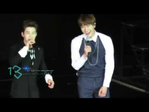 [13Def]150301 ss6 Henry & Zhou Mi Whose cantonese is better