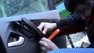 видео Чехлы для Лада Гранта Люкс (ЭКОкожа + перфорация) чёрный