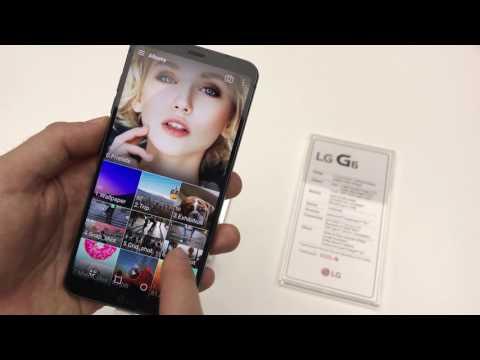 LG G6 (prvý kontakt)