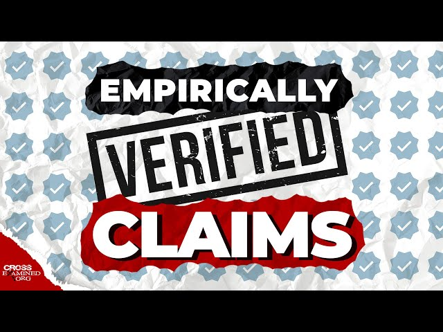 Can only empirically verified claims be true?