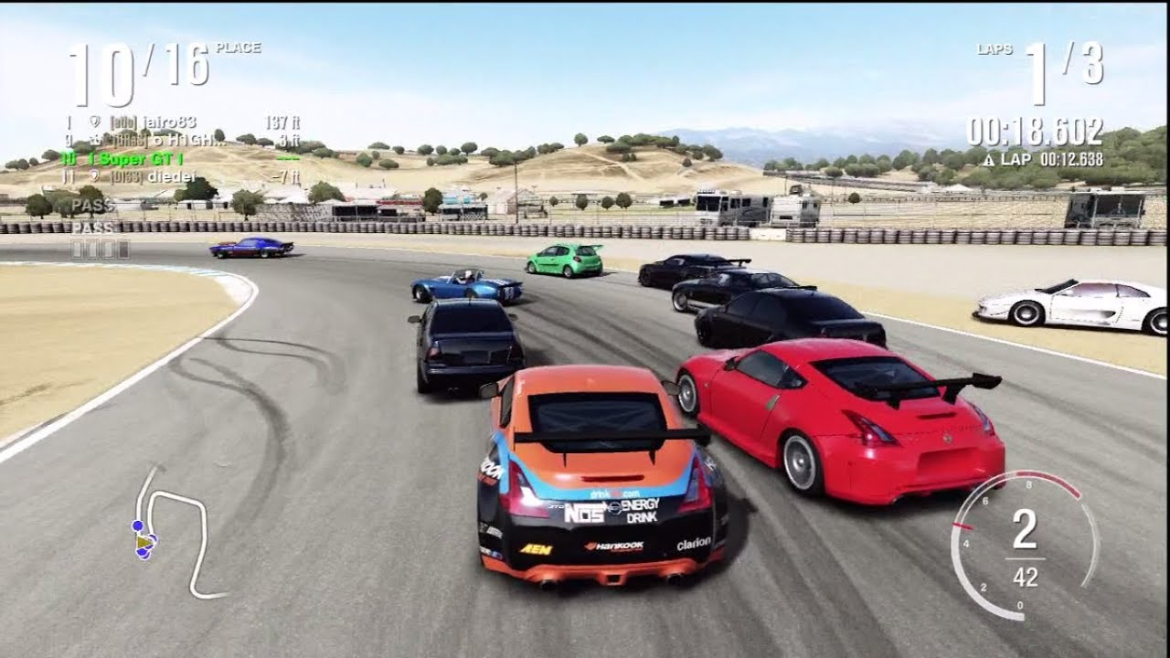 Forza 4 Dirtiest Race Ever Youtube