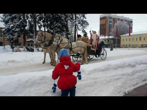 Дед мороз и Женя