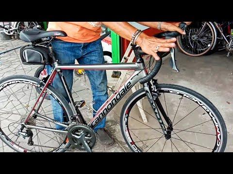 Cannondale จักรยานแต่งครึ่งแสน เสือหมอบมือสอง อย่างเท่ ร้านขายจักรยาน นักปั่นสุดเก๋า เสือภูเขามือสอง