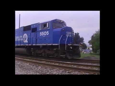 Columbus, Ohio Trains Late 90s (Mostly West Virginia Secondary)