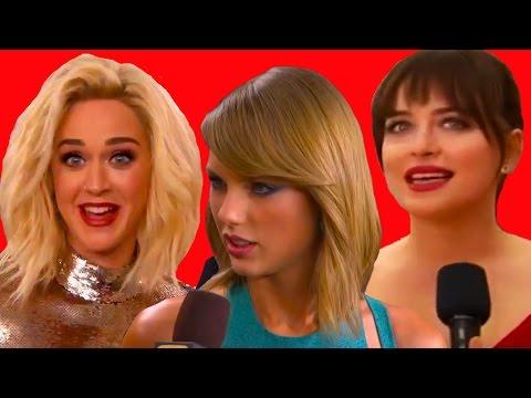7 Incómodas Entrevistas Con Celebridades En La Alfombra Roja
