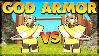 Gott Rüstung *PvP Arena* für 1.000 Robux! (Roblox Booga Booga)