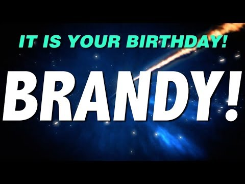 HAPPY BIRTHDAY BRANDY! This Is Your Gift.