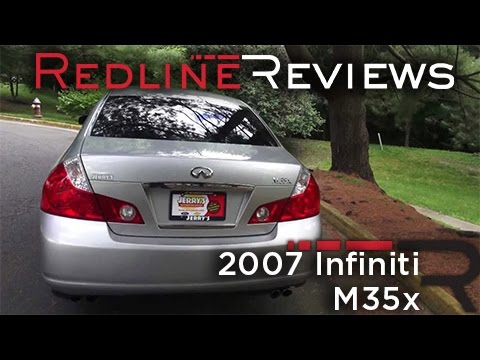 2007 Infiniti M35x Walkaround, Exhaust, Review, Test Drive