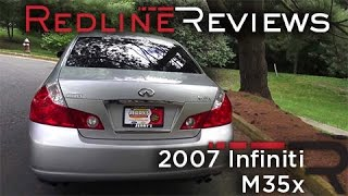 Скачать 2007 Infiniti M35x Walkaround Exhaust Review Test Drive