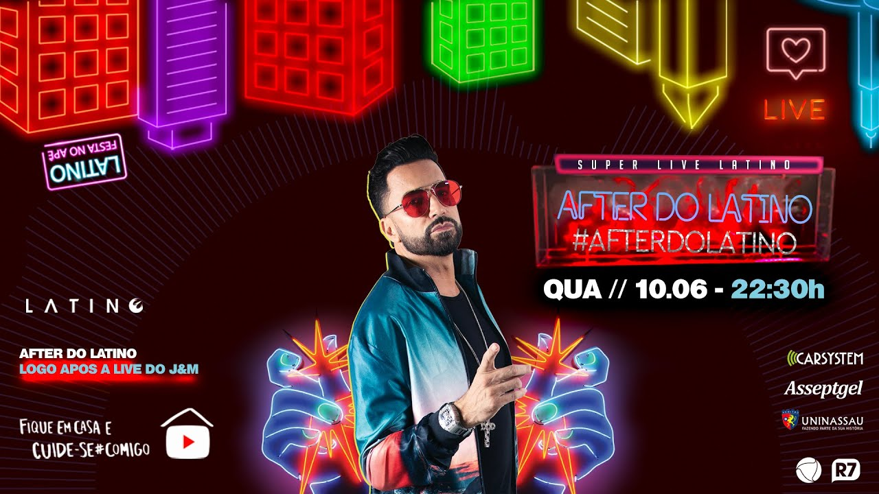 Latino - Live After do Latino #AfterdoLatino #FiqueEmCasa e #CanteComigo