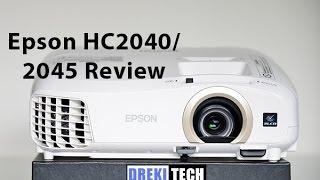 Epson Home Cinema 2040 / 2045 Review