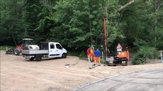 Die Rurbrücke im Grünenthal ist erneuert worden