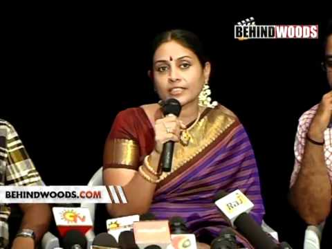 Saranya Ponvannan Press Meet video