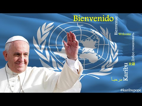 Pope Francis visit to United Nations office in Nairobi (UNON) - Spanish Language