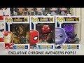 FIRST LOOK: Infinity Wars Chrome Pop! Vinyls AUS Exclusive