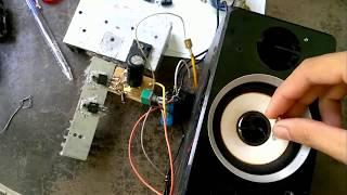 mạch âm thanh class a đơn giản