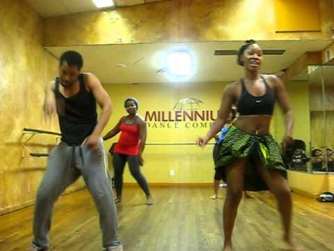 African Dance Millennium Dance studio