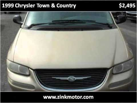 1999 Chrysler Town Country Used Cars Appleton City Mo