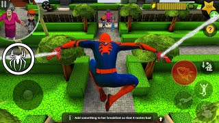 Download Playing Scary Teacher 3D As SpiderMan Challenge in Minecraft