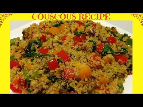 How To Cook The Perfect Couscous | Healthy Couscous Recipe