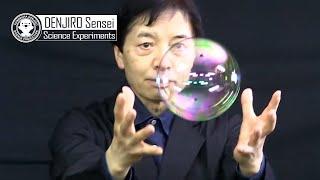 Miracle Soap Bubble experiments to do at home | Yonemura Denjiro