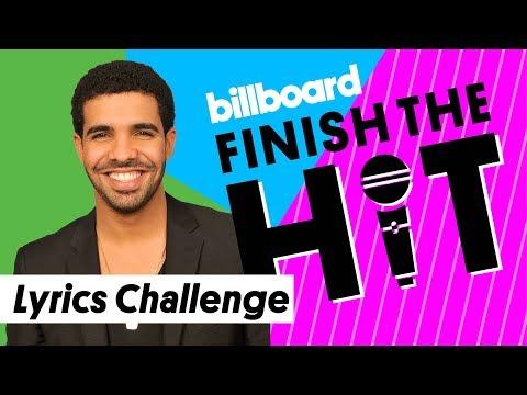 Drake Lyrics Challenge   Finish the Hit   Billboard